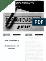Plan Antievasion III AFIP
