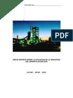 Industria Del Cemento Bolivia
