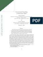 Stefano Ansoldi and Lorenzo Sindoni- Gravitational Tunnelling of Relativistic Shells