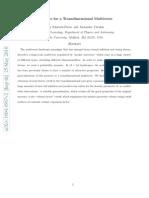 Delia Schwartz-Perlov and Alexander Vilenkin- Measures for a Transdimensional Multiverse