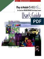 Canon Plug-In CSU33 Guide