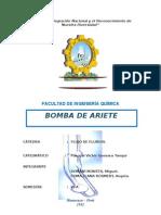 Informe Bomba de Ariete
