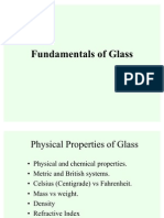 Fundamental of Glass