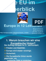 Europa in 12 Lektionen 2003