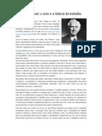 Bertrand Russel - o ócio e a falácia do trabalho