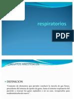 Dinámica de los circuitos respiratorios