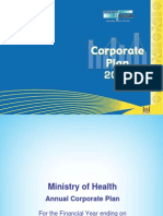 Fiji - Ministry of Health - Corporate Plan 2011