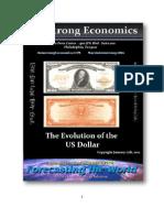 US Dollar Evolution 01-17-2012