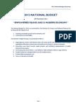 Aliz Pacific - 2012 National Budget Summary