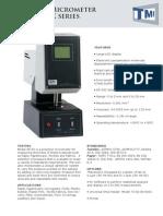 49 50 Series Micrometers