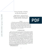 John D. Barrow and Sean Z.W. Lip- Classical Stability of Sudden and Big Rip Singularities