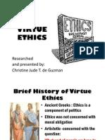 3.Virtue Ethics - De Guzman