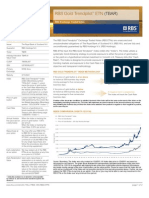 Gold Trend ETN Factsheet