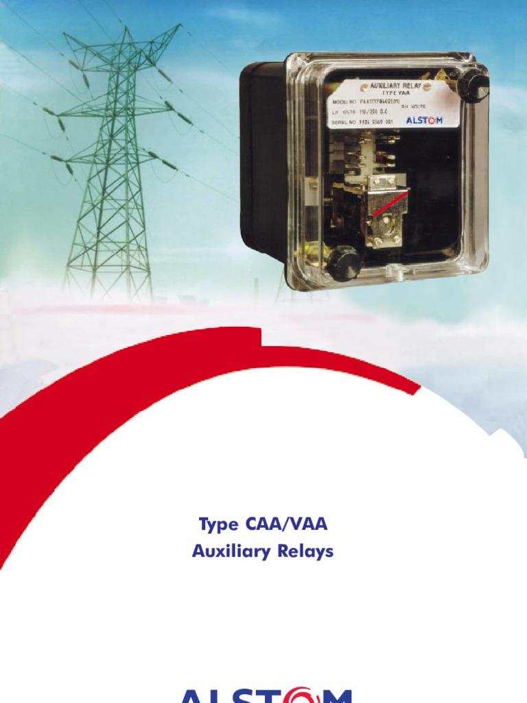 Caa vaa relay alternating current
