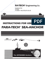 Sea Anchor Instructions