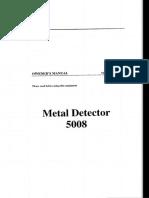 Manual_1 for Metal Detector