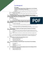 Pmbok 4th Edition q & a Hr