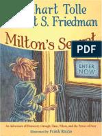 Eckhart tolle milton's secret sample pages (official release)