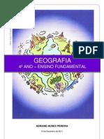 Geografia Itajubá 4º Ano Rev 00