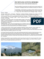 Berita Terkini Tentang Gunung Sindoro