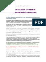 Armonizacion Contable Gubernamental_Avances