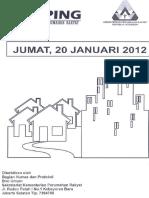 Scan Kliping Berita Perumahan Rakyat,  20 Januari 2012
