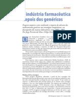 A Industria Farmaceutica Depois Dos Genericos