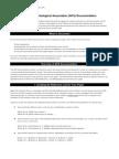 American Psychological Association (APA) Documentation M