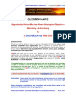 Small Business Questionnaire 2.3
