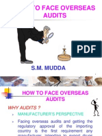 How to Face Overseas Audits