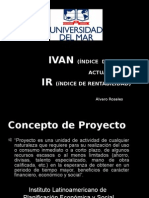 iVAn (Índice Del Valor Actual Neto)