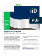 Ideas in 2011 - ebook by iiD