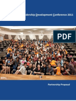 NLDC 2011 Partnership Proposal