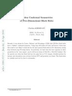 Chethan Krishnan- Hidden Conformal Symmetries of Five-Dimensional Black Holes
