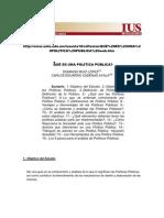 Qué es una política pública (Ruiz López y Cadenas Ayala)