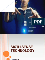 Sixth Sense Technology Ppt1