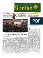 The Paulinian August 2011