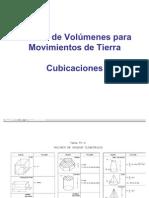 Calculo de Volumenes Para Movimientos de Tierra