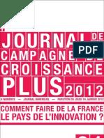 Petit Journal de Campagne N1-Innovation