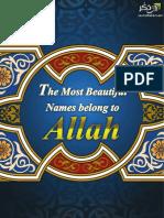 The Most Beautiful Names Belong to Allah