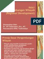 Regional Development - Siti Fadjarajani