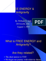 FREE ENERGY and Anti Gravity
