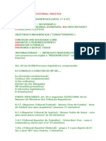 MACETES - DIREITO CONSTITUCIONAL