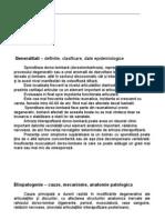 Tratamentul Spondilozei Dorso-lombare
