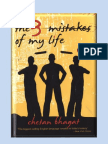 8239895 Three Mistakes of My Life by Chetan Bhagat