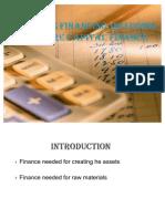 Business Financing Including Venture Capital Finance