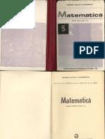 Matematica - manual pentru clasa a V-a