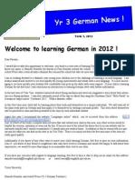 year 3 newsletter