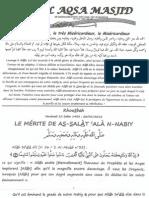 Le Merite De As-Salat Ala-N-Nabiy صلى الله عليه وسلم