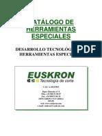 Catálogo Herramientas Especiales EUSKRON S.A.